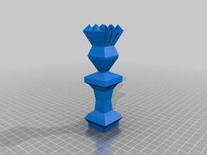 Geometric Chess Set