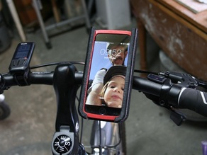 iphone 6 (with bumper case) bike mount