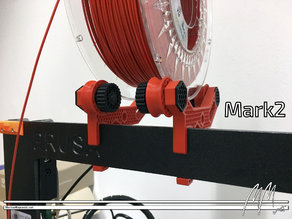 Prusa i3 MK2(s) & MK3 Spool Holder - Frame Mount - Top Loader