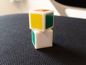 Rubik's Cuboid 1x1x2 - One Piece