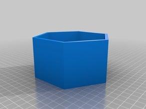 Hexagonal bowl