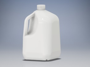 Plastic Gallon Milk Jug