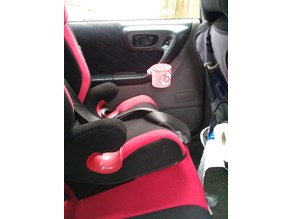 back door car cup holder