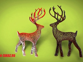 Deer Voronoi, remix