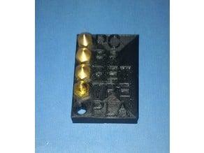 Mk8 nozzle rack