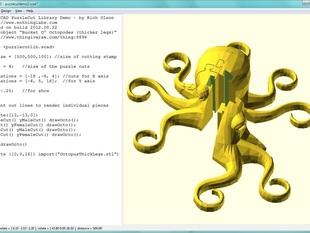 PuzzleCut OpenSCAD Library