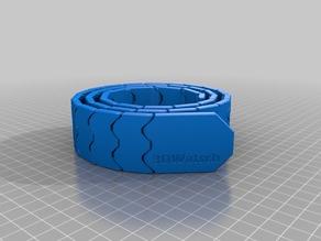 My Customized Belt (print in place, , MMU design) 795mm