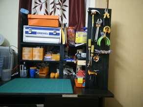 Fully parametric bench-top shelf