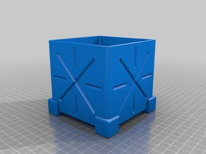 future-ish crate piggy bank