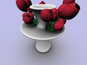 Double Sided Soap Bubble Vase
