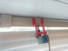 Window Blind Stepper Mount