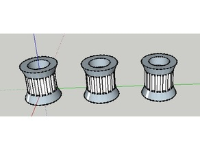 16 tooth GT2 Idler Pulley for Kossel