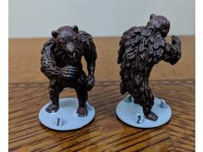 Gloomhaven Monster: Cave Bear