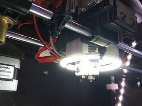 Rigidbot Titan extruder mount w/ Volcano hotend
