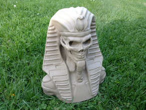 Undead Pharaoh Flower Pot