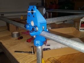 MPCNC LockC Rail Support