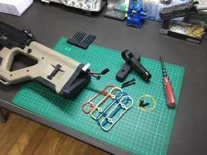 ICS & ASG - HERA ARMS CQR M4 - Quick Release Stock