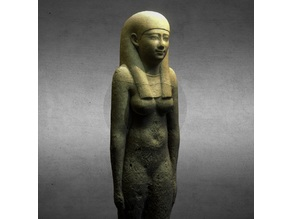 Ptolemaic statue of a woman
