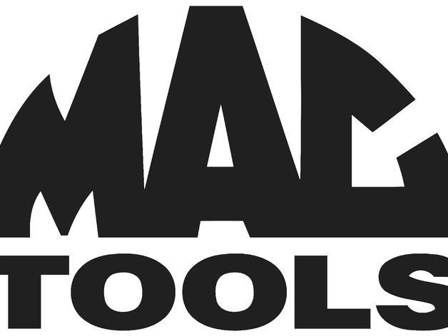 MAC tools logo emblem by Plastic_Innovations - Thingiverse