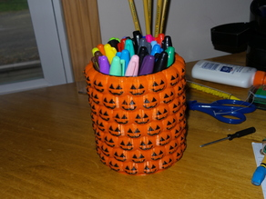 Halloween Pencil Holder