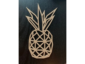 Low Poly Pineapple
