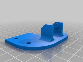 Anet A8 Y axis cable chain and supports