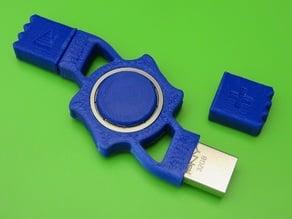 USB Fidget Spinner