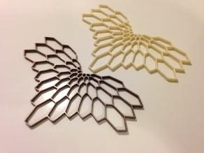 Graphic Necklace - Diamonds