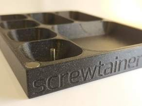 screwtainer with lid