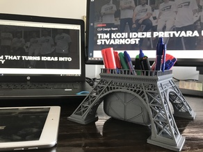 Eiffel tower vase / pen stand by paX