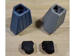 LeCroy WavePro/WaveMaster/DDA/SDA compatible rear foot bumper