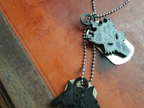 Warhammer40k Space Wolf  Medallion