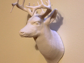 Deer Head detailed