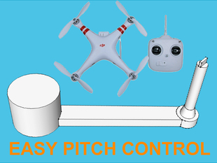V1 DJI Phantom Pitch Lever Control Kit