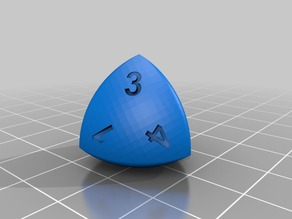 Spheroform Tetrahedron d4