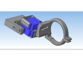Servo Gimbal for mini DVR 0805 (quad frame Totem Q330)