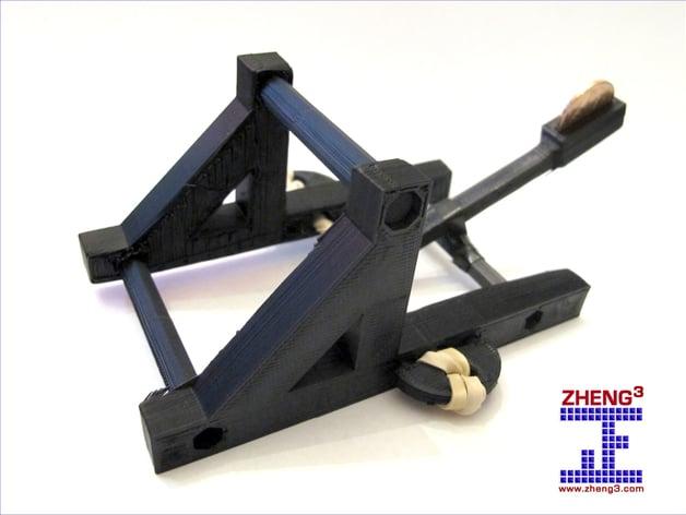 Zheng3 Penny Catapult By Zheng3 Thingiverse