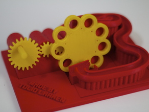 A 3D Printed Marble Machine