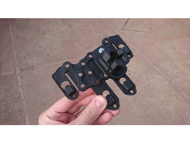 Airsoft - Glock G17/G18c Holster Trigger Lock Mechanism by