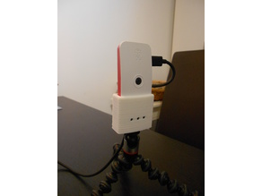 Camera stand adapter for official raspberry pi zero cases