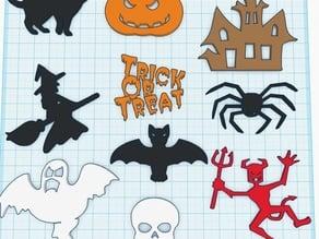 Halloween - Flat stuff