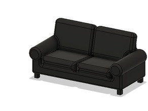 Doll house stuff - Couch