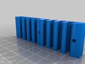 Wall Mount Ethernet Cord Organizer