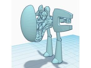 Space Elf War Walker Eldar 40k Proxy