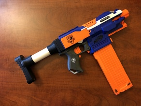Nerf Stryfe PVC Stock Adapter