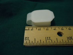 Pill Box 20 x 25 mm With Flexible Hinge