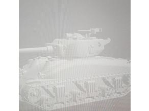 28mm Cal.50 tank turret