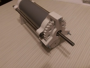Bowden style paste extruder