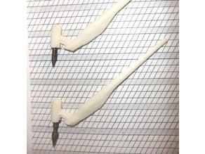 45 Degree Oblique Penholder