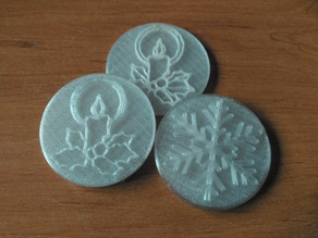 Christmas Stamps for Cookie Stamper